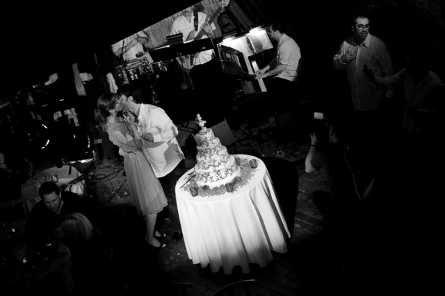 wedding reception at The Beehive in Boston