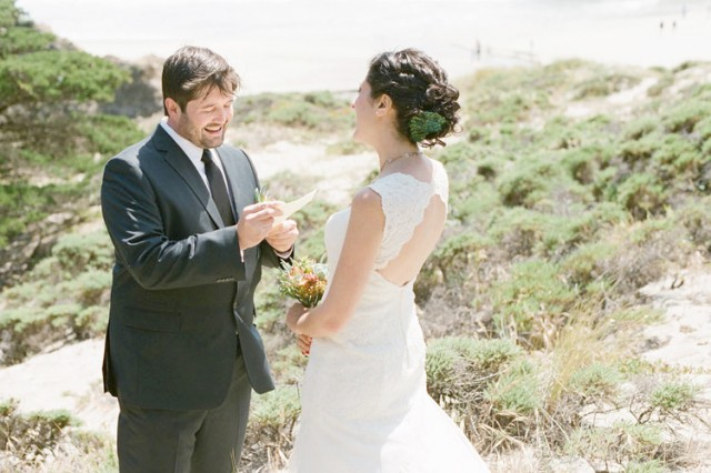 vows on big sur's pfeiffer beach