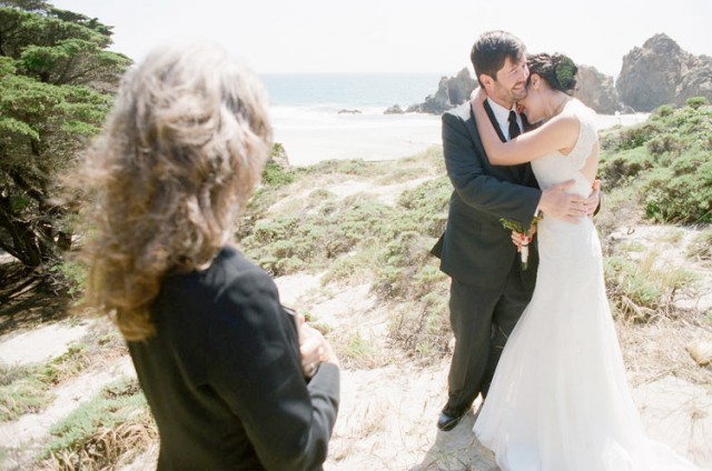 just married on big sur pfeiffer beach