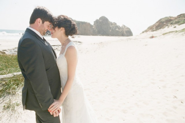 marriage on pfeiffer beach