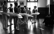 Alameda Civic Ballet training