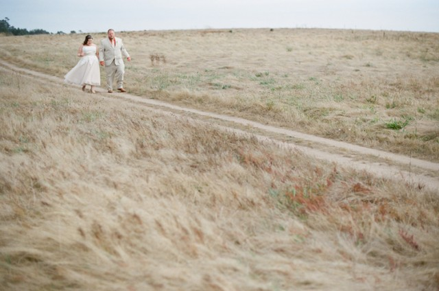 fiscilini ranch wedding walk