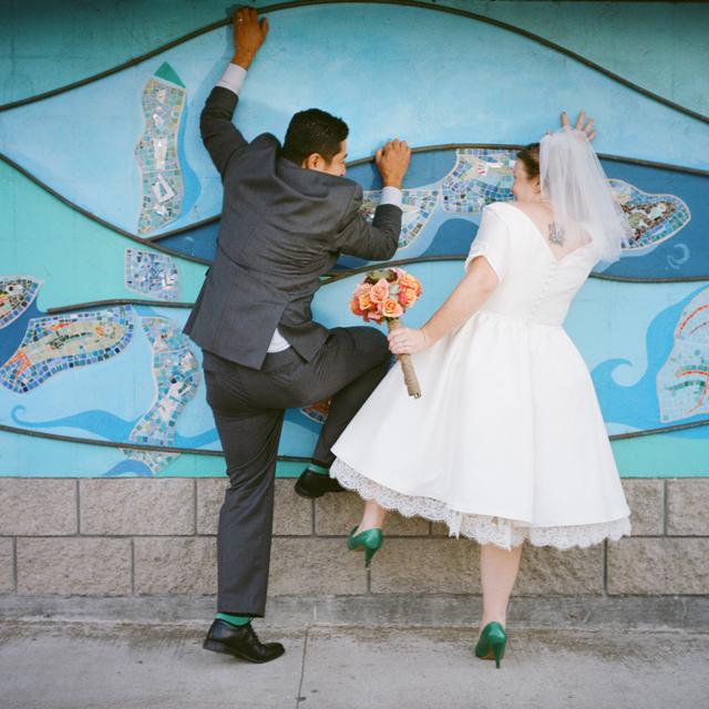 cayucos ca fun wedding photographer