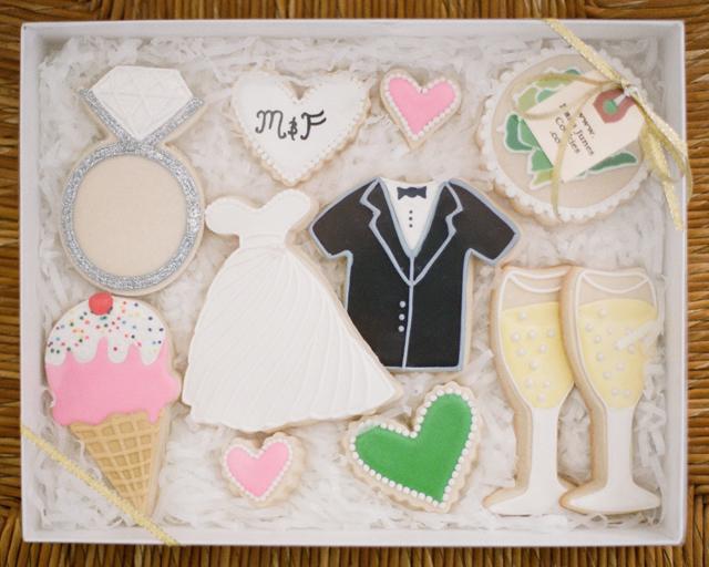 DIY wedding cookies