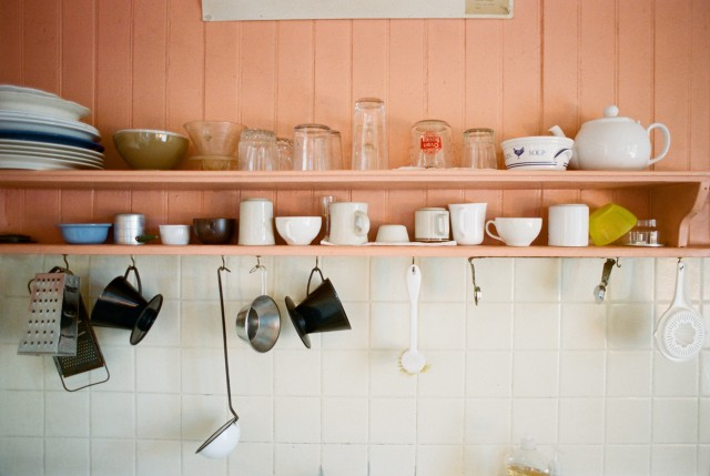 old kitchen in grand hotel bolinas
