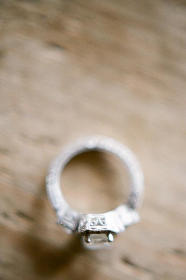 edwardian diamond wedding ring