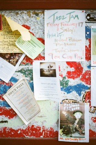 corkboard downtown bolinas california